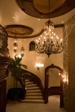 Photo of elegant San Diego staircase